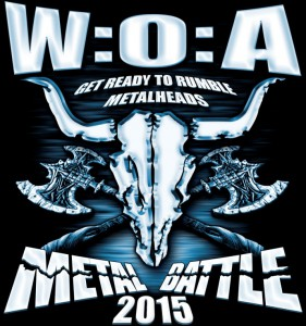 Woa metal battle 15 logga